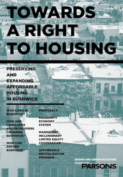 Towards a  Right to Housing in Bushwick Photo